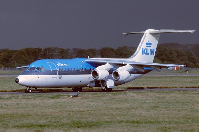 G-UKAC Bae146-300 EGPH 1999