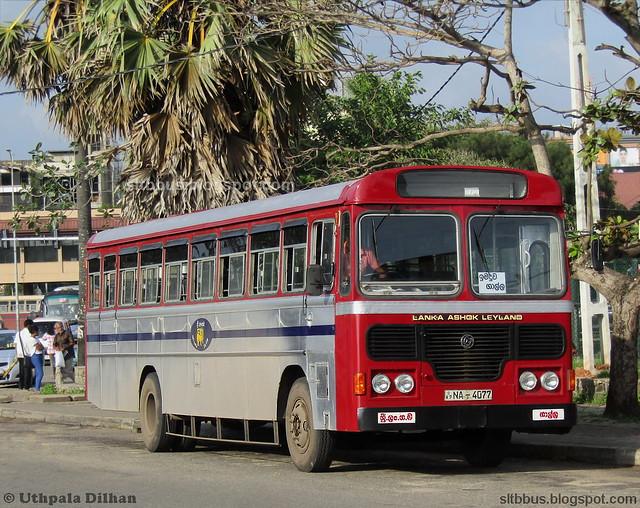 Ashok Leyland Viking Hinopower bus from SLTB Galle depot