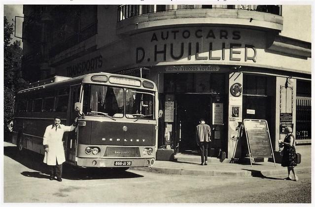 Berliet Escapade PLH Autocars D. Huillier Villard de Lans (38 Isère) 1961a