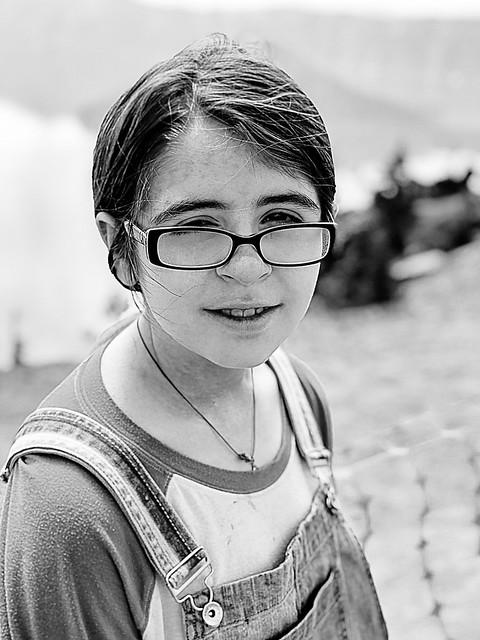 Evie at Crater Lake