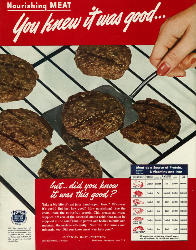 American Meat Institute - published in Look Vol. 13, No. 15 - July 19, 1949