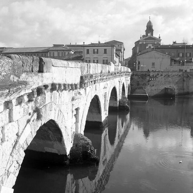 Ponte di Tiberio - Rimini - February 2020