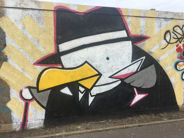 Graffiti penguin