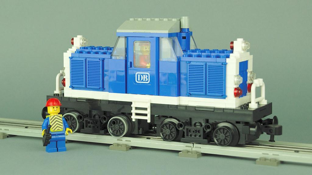LEGO 12V MOC V100 and Silberlinge