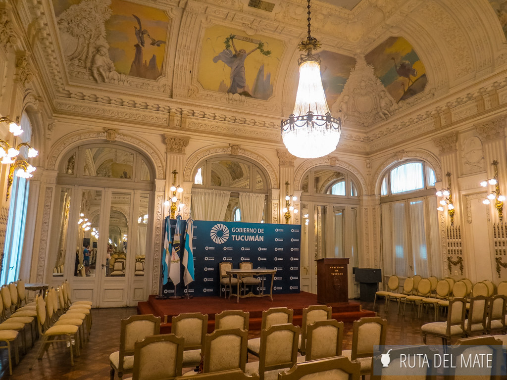 Visita guiada Casa de Gobierno Tucuman