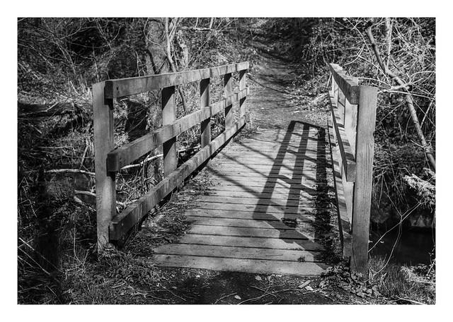 A bridge to trip-trap across