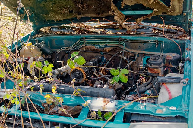 moteur d'épave