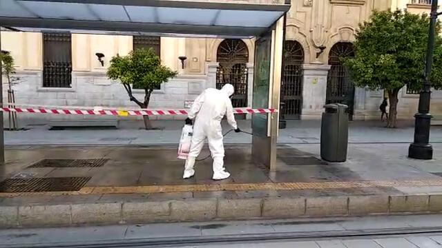 Coronavirus-Sevilla-Plan-desinfección-Tussam