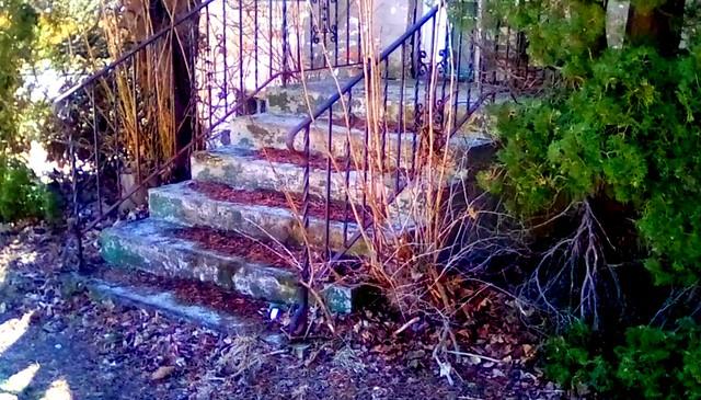 Front steps! - SS Menominee Michigan