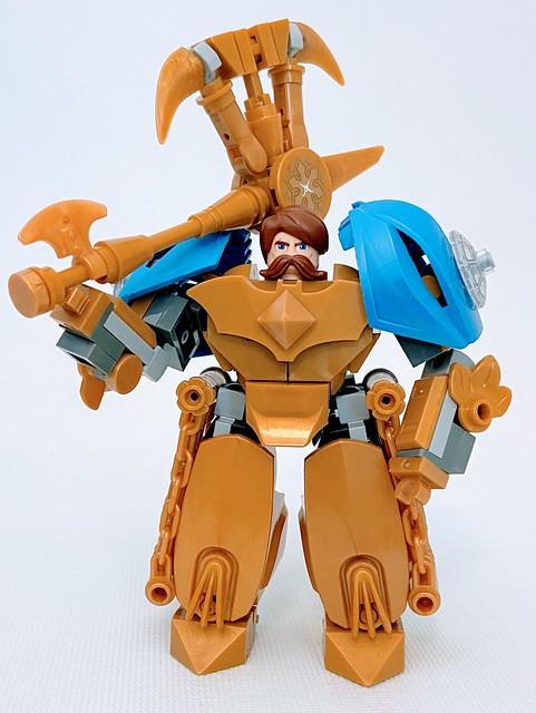 Lego Escanor and Divine Axe Rhitta