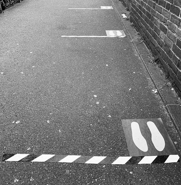 Two metres apart