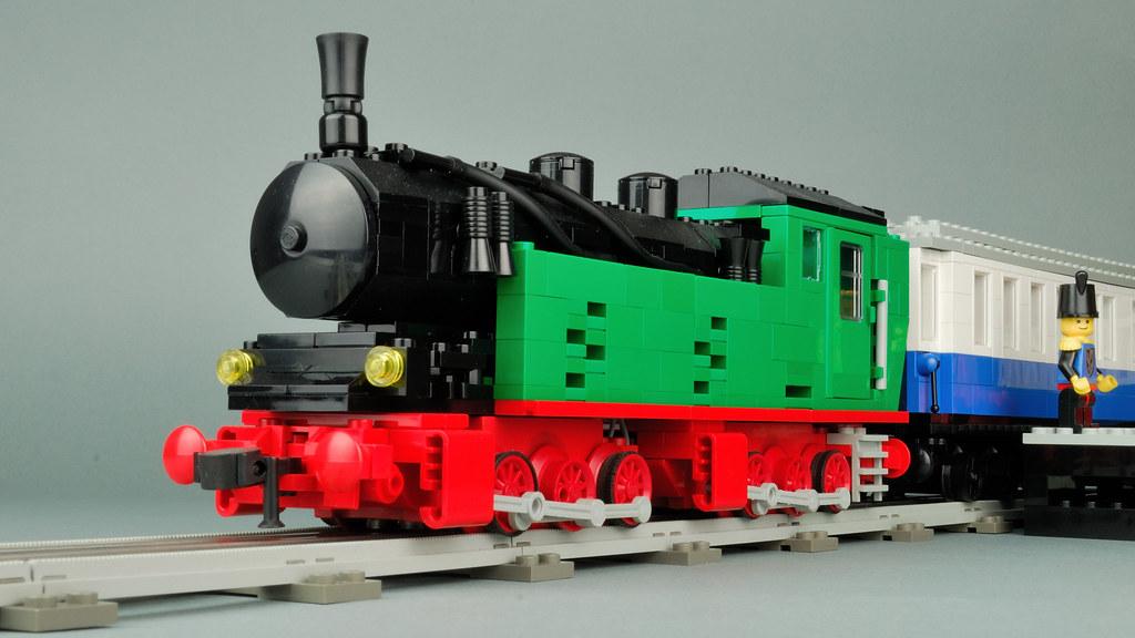 LEGO 12V MOC Mallet Steam Engine