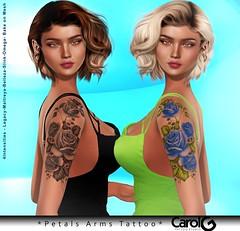 Petals Arms TaTToo [CAROL G]