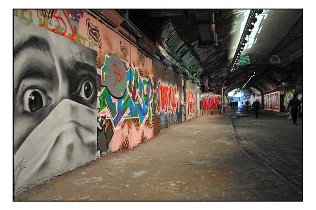 LONDON STREET ART by MATTHEW ECKERSLEY