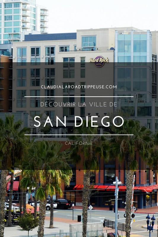 San Diego canva pour Pinterest
