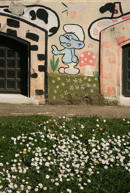 Smurf & Daisies