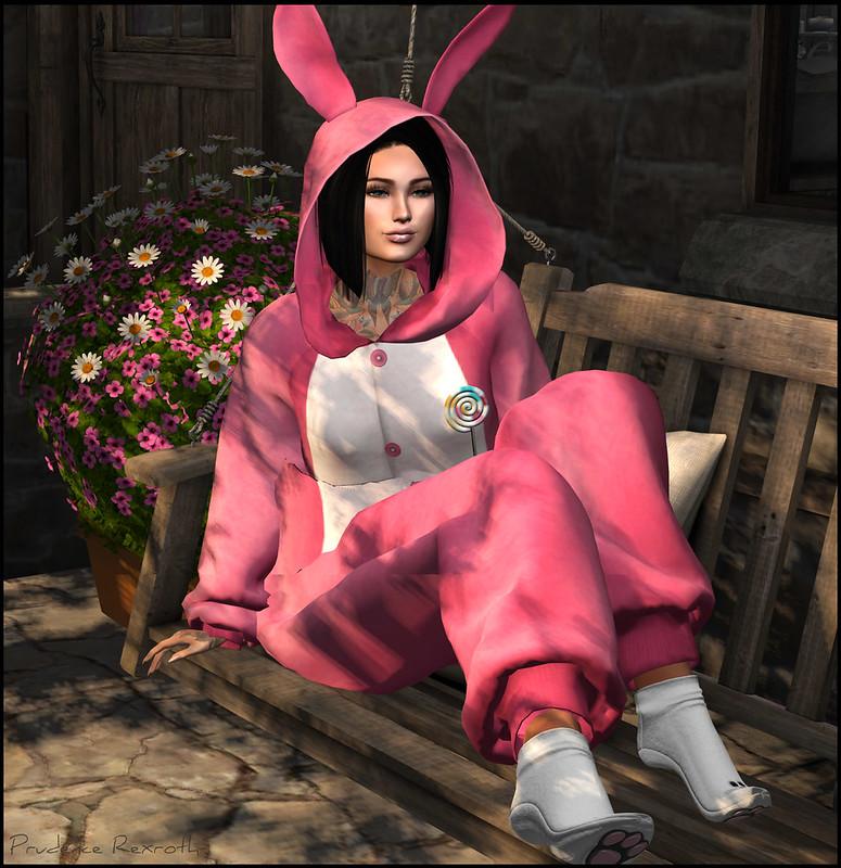 Pink Pru Bunny