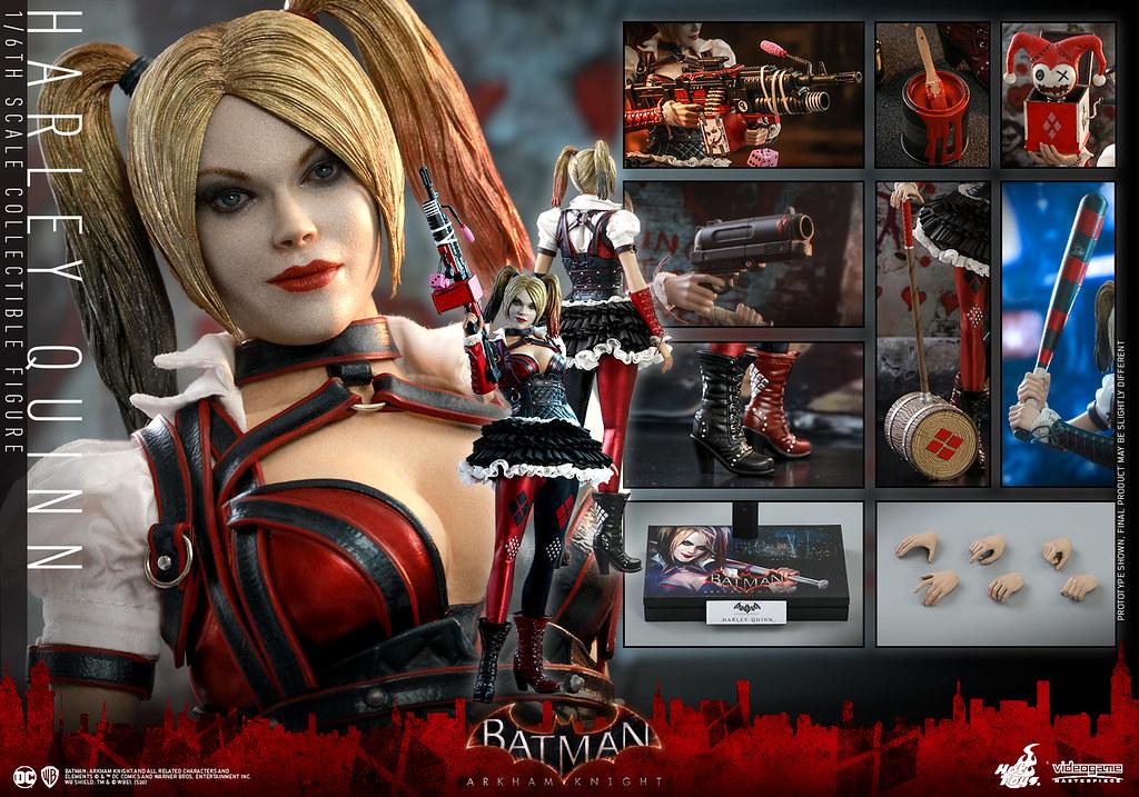 Hot Toys - VGM41 -《蝙蝠俠:阿卡漢騎士》哈莉·奎茵 Harley Quinn 1/6 比例人偶