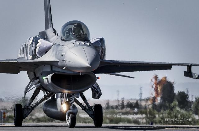 F-16CJ Poland Air Force 4059, NTM Zaragoza (ES) Mayo de 2016.