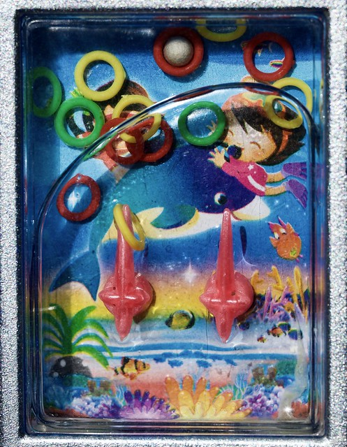 Plastic. Water game