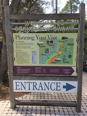 Corkscrew Swamp Entrance Sign