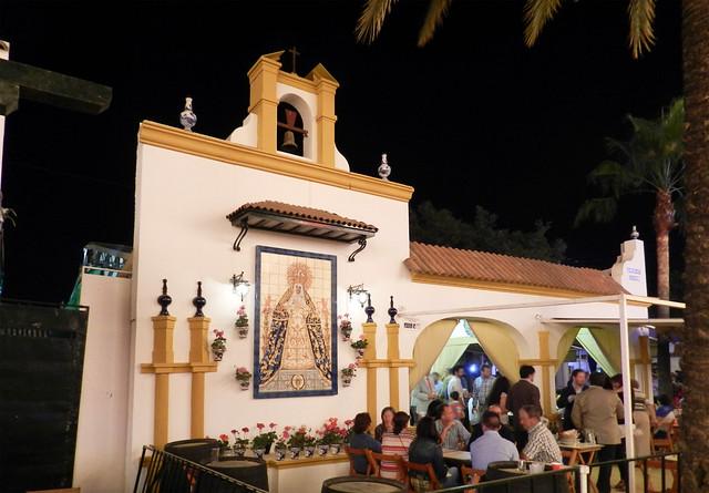Puesto bar del recinto Parque González Hontoria Feria del Caballo 2014 Jerez de la Frontera Cadiz 02