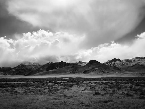 bnw landscape monochrome blackandwhite nevada clouds storm