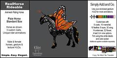 Elite Equestrian's AnimeshReal Horse Rideable Pixie Horse (Standard) Size