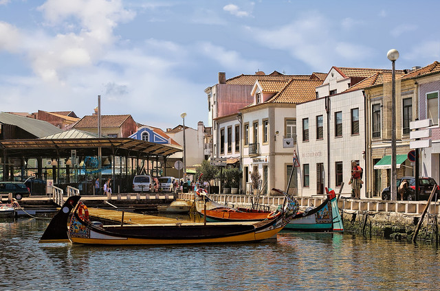 Beautiful Aveiro - Botirões wharf