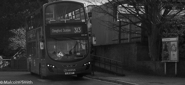 Route 313 Chingford Station