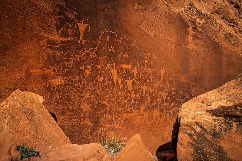 Slot Site Petroglyphs