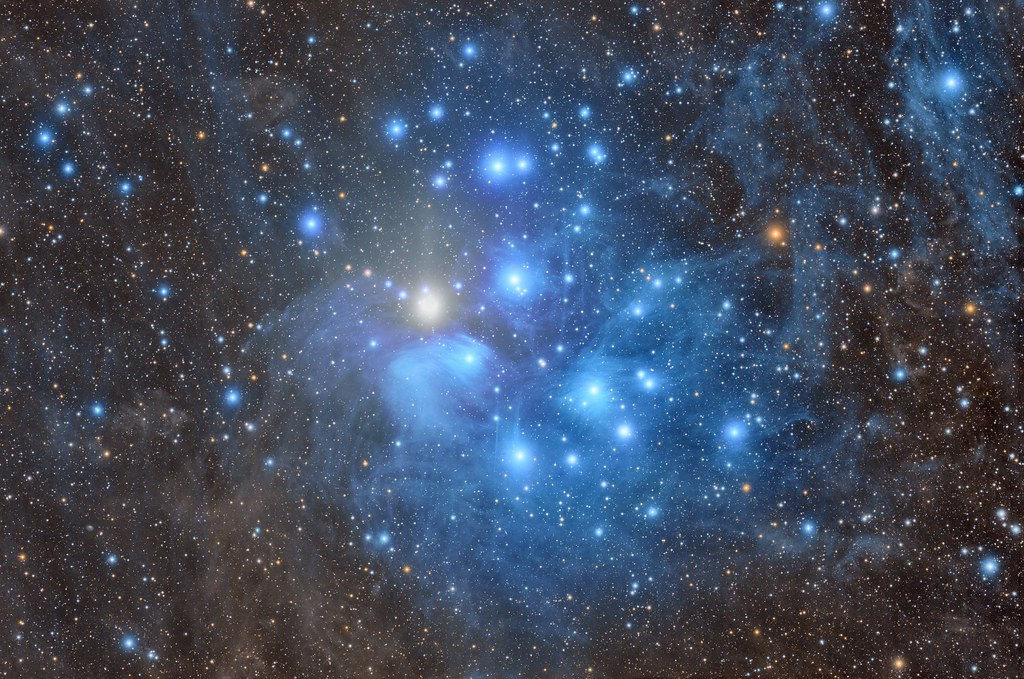 M45 and Venus