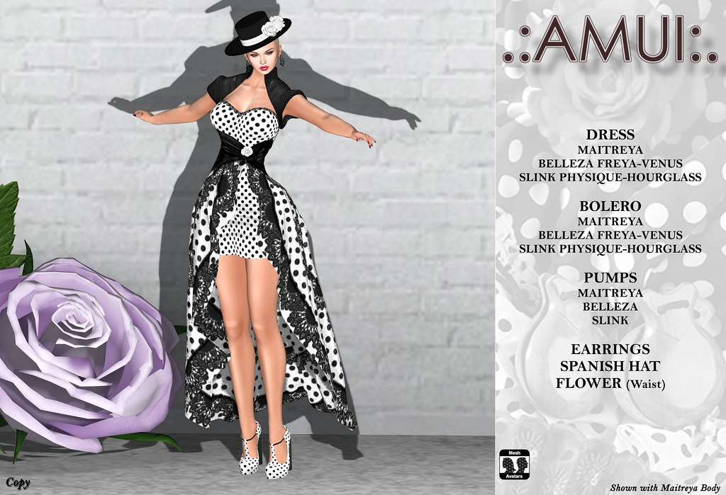 ".:AMUI:. Flamenco Dress ""Maria"""