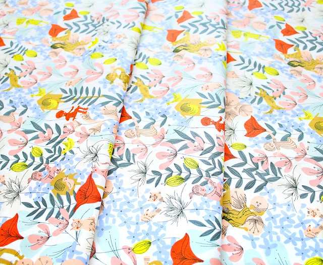 Windham Fabrics Playground 51541-X In the Flowers Multi