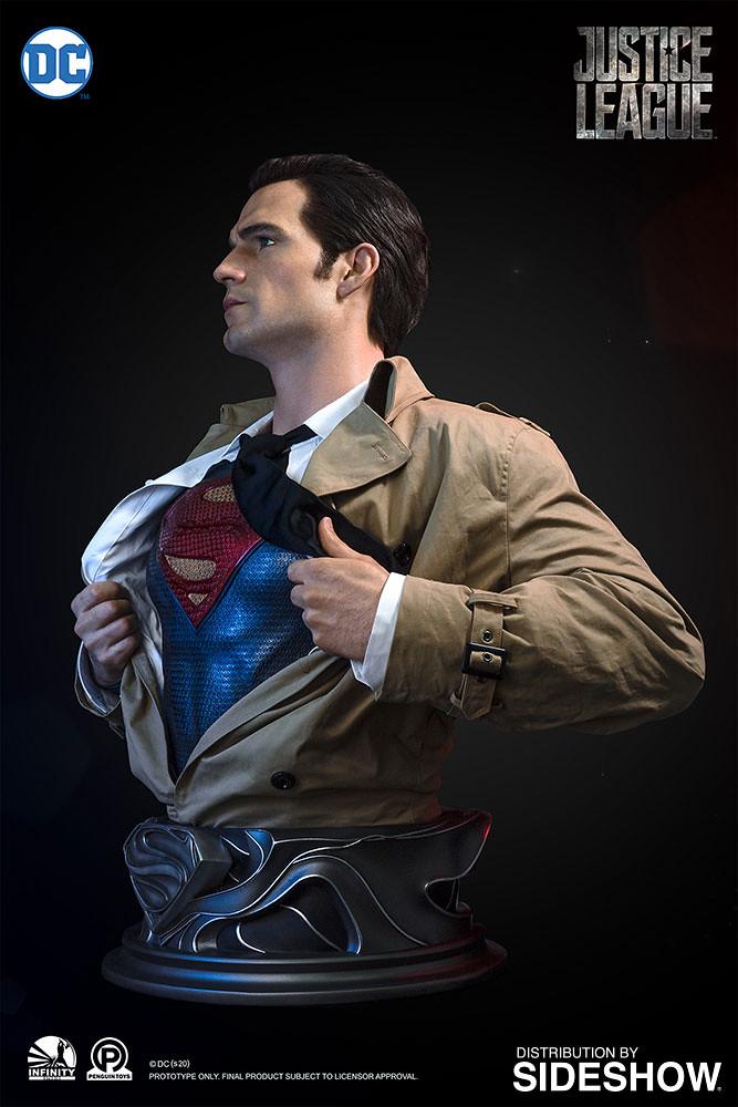 準備拯救世界! Infinity Studio - DC Series -《正義聯盟》超人 (Superman) 1:1 比例半身胸像