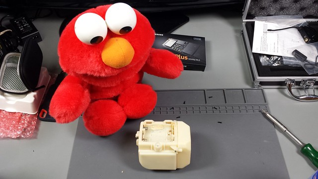Tickle me Elmo repair