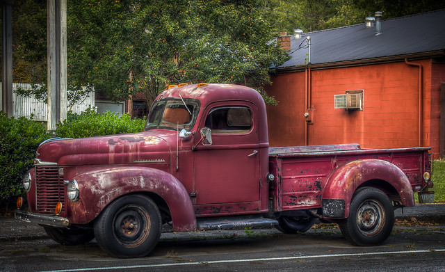 International Pickup Truck (late 1930's to late 1940's?)