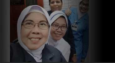 Duty comes first for senior nurse, despite missing husband, children