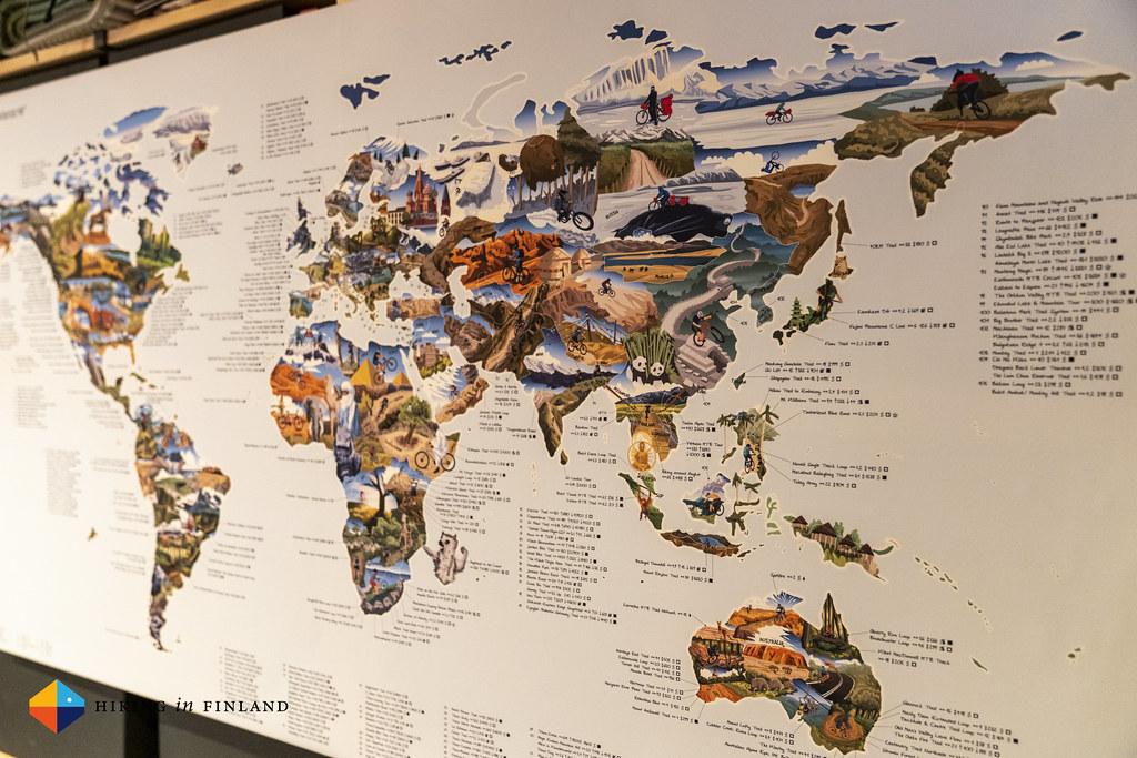 Australia, Asia, Africa and Europe