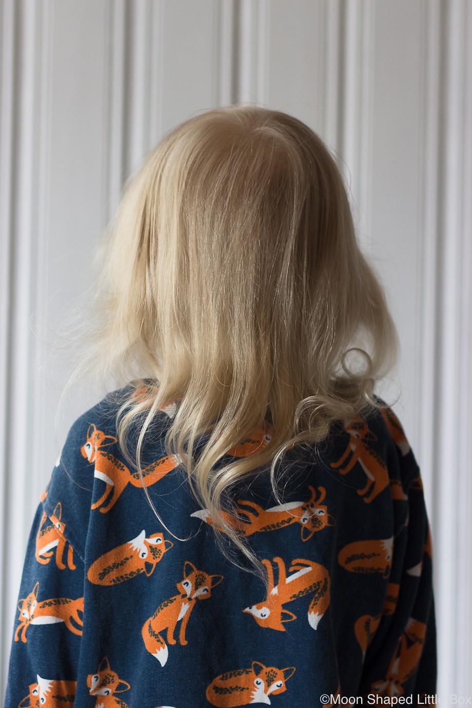 Lapsen-hiukset