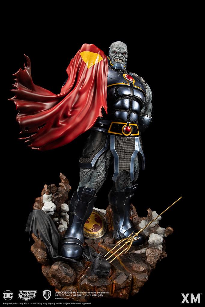 擊敗正義聯盟的大魔頭,挺立大地! XM Studios Premium Collectibles 系列 DC Rebirth【達克賽德】Darkseid - Rebirth 1/6 比例全身雕像