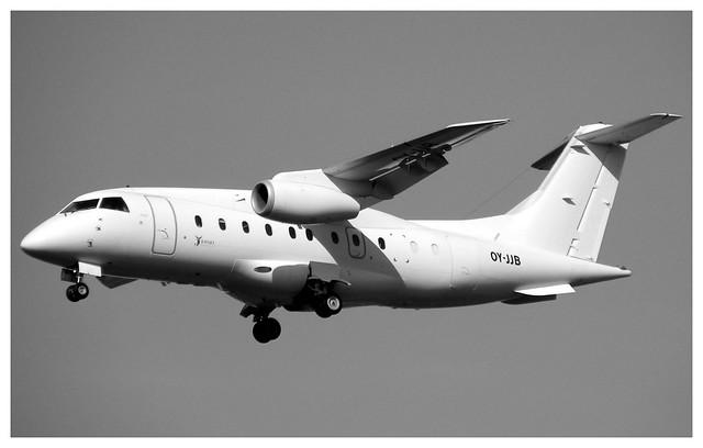 6G/FDY Sun Air Dornier 328JET-310 OY-JJB