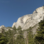 Half Dome from Mirror Lake Loop