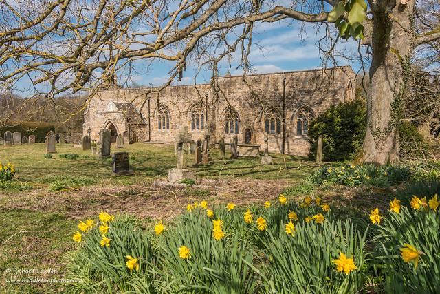 St Marys Parish Church Wycliffe Mar 2020