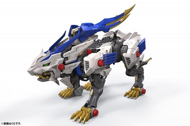 壽屋 HMM 《機獸戰記狂野爆發 ZOIDS WILD》狂野長牙獅(ワイルドライガー)1/35 比例組裝模型