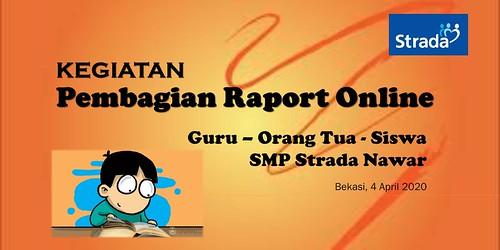 Pembagian Raport Mid Semester Genap Online