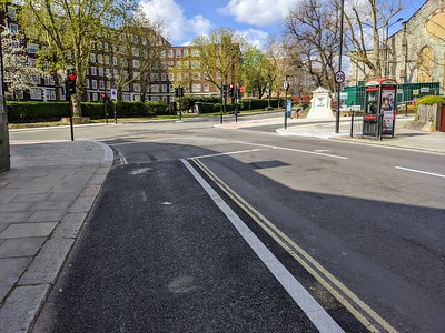 Approach to Haverstock Hill on PoW
