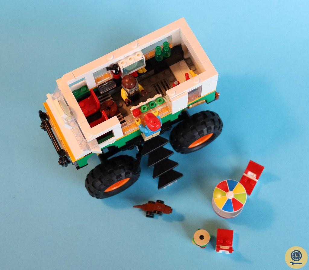 31104 Monster Burger Truck 4