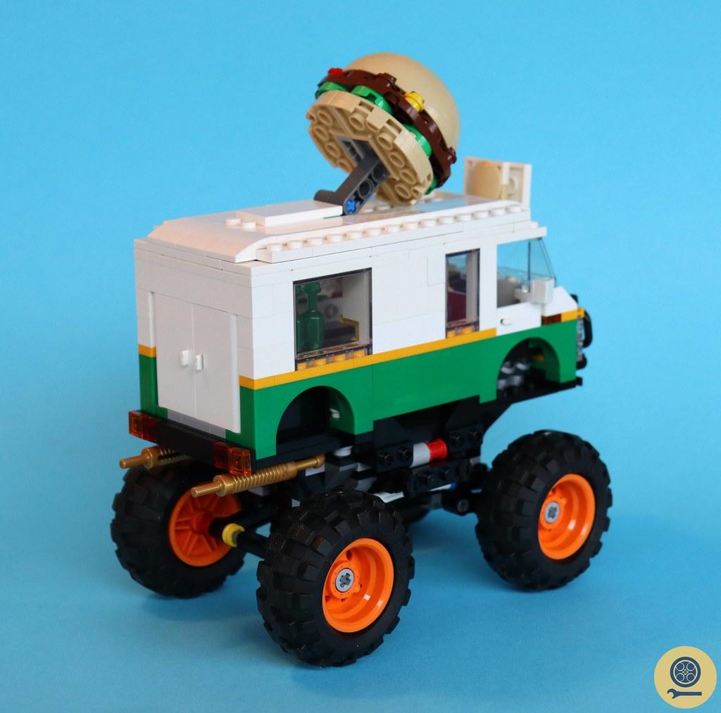 31104 Monster Burger Truck 2