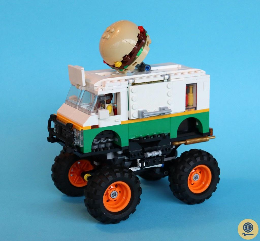 31104 Monster Burger Truck 1